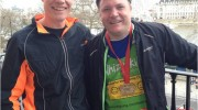 Nick Berners-Price, Ed Balls, London Marathon 2013