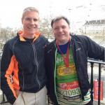 Nick Berners-Price, Ed Balls, London Marathon 2013